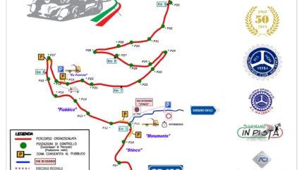 tracciato di gara della sarnano-sassotetto